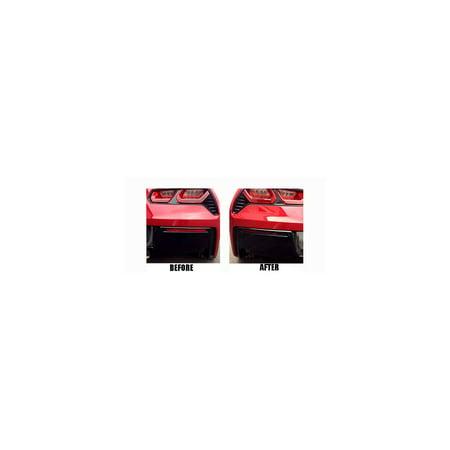Eckler's Premier  Products 25-334330 - (C7) Corvette Lower Rear Bumper Reflector Blackout Vinyl Covers