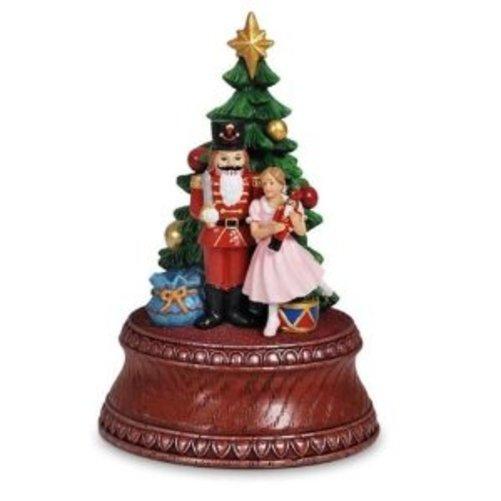 Classic Nutcracker Tree SF Music Box Co Figurine Multi - Colored