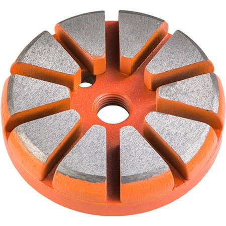 10 Segment Ten S 70 Grit Hard Bond Tool by Diamond Productions