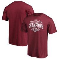Texas A&M Aggies Fanatics Branded 2019 Texas Bowl Champions Corner T-Shirt - Maroon