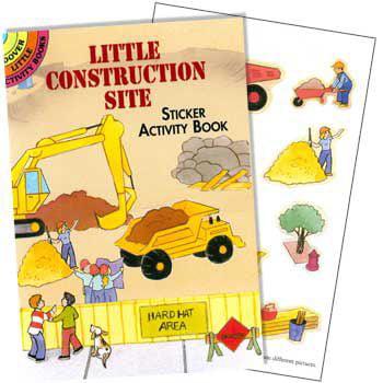 Construction Site Sticker Book (each) - Party Supplies - Party City Site