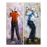 DecorFreak Golf Player Painting Set
