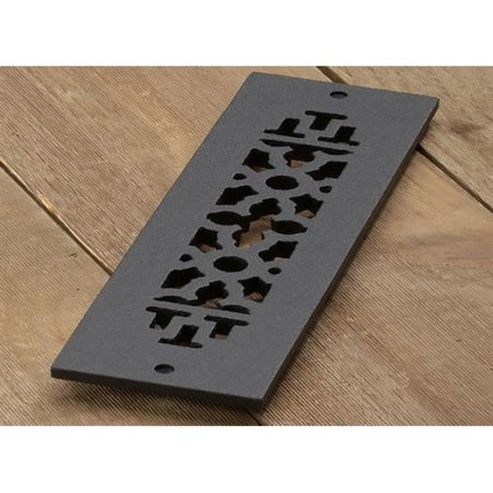 Reggio Registers 412 H Scroll Series 10   X 2 1 4   Grille With Mounting Holes