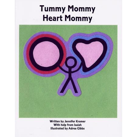Tummy Mommy Heart Mommy - eBook