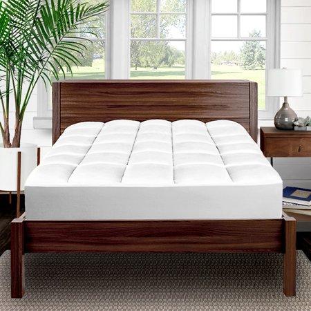 Pillow Top Premium Mattress Pad 1 5 Inch Cooling Down