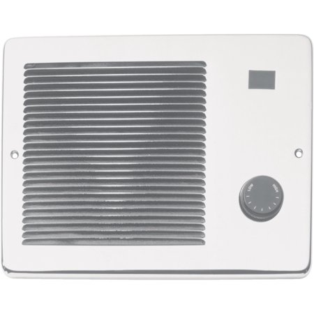 Broan/nautilus 174 750/1500W White Painted Grill Wall Heater
