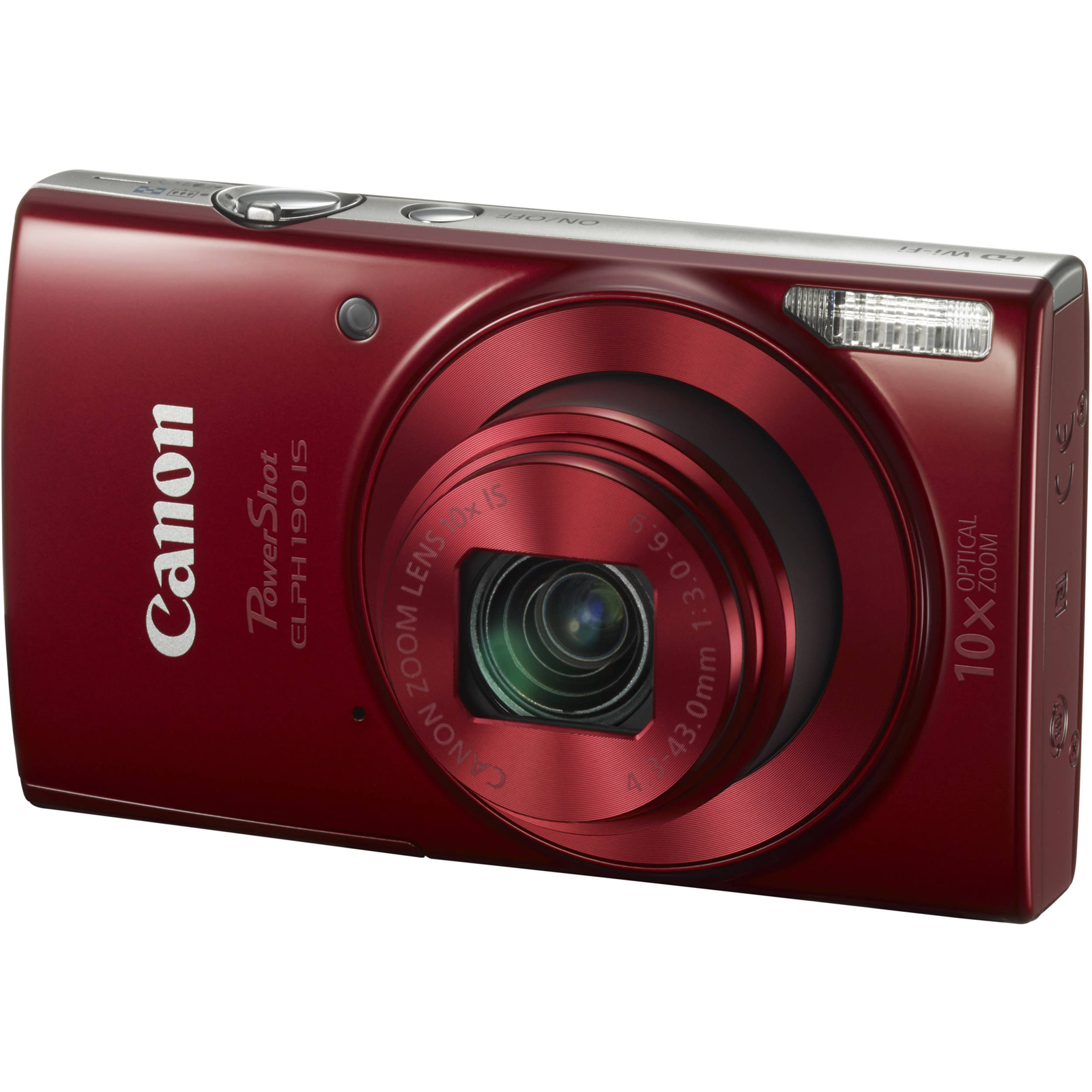 Click here to buy Canon PowerShot ELPH 190 IS Digital Camera (Blue) by Canon.