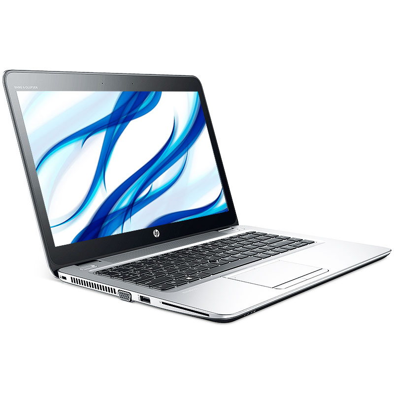 Refurbished HP EliteBook 820 G3 2.4GHz DC i5 8GB 180SSD Windows 10 Pro 64 Laptop B Camera