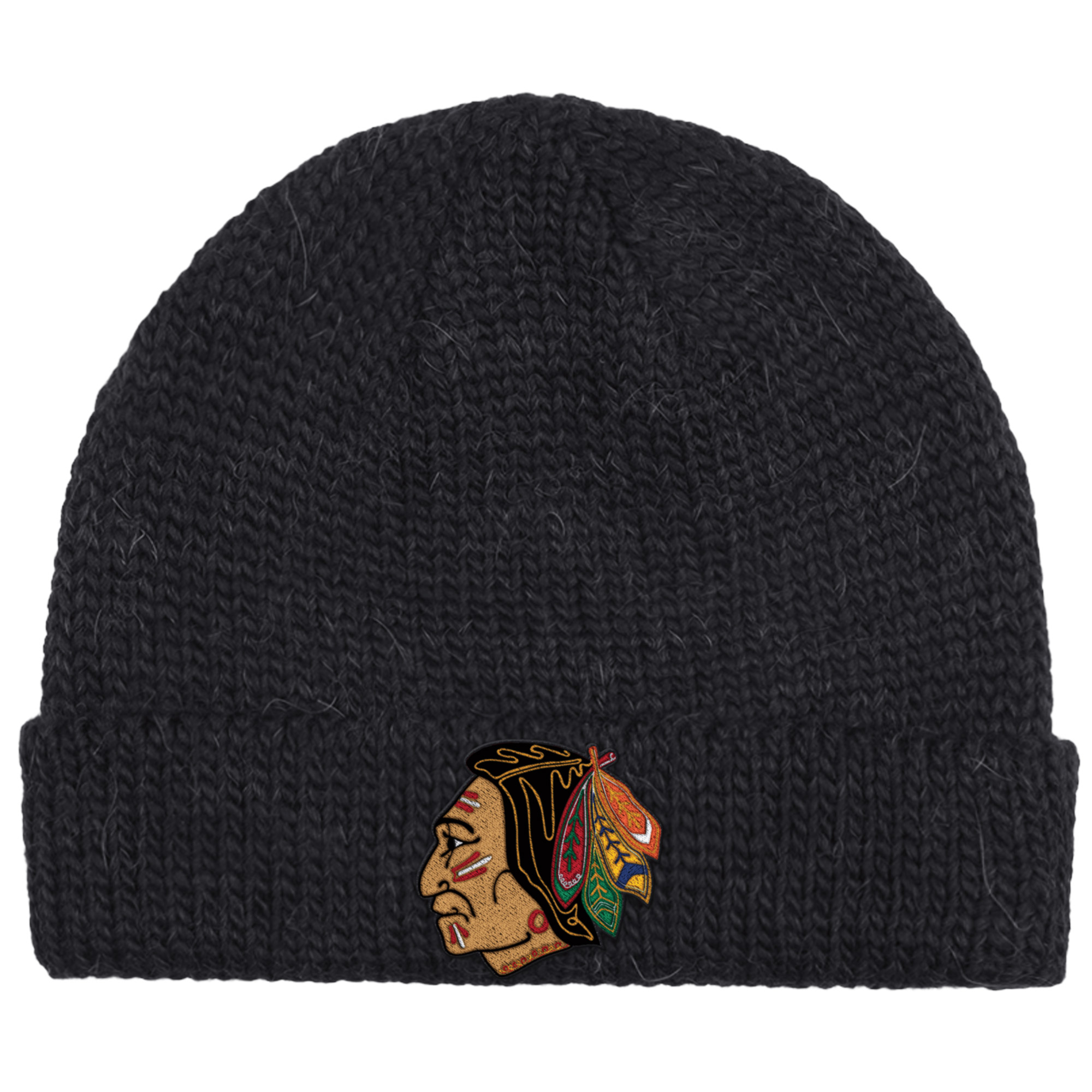 Chicago Blackhawks CCM 2017 Winter Classic Watch Knit Hat Black OSFA by REEBOK/SPORTS LICENSED DIVISION
