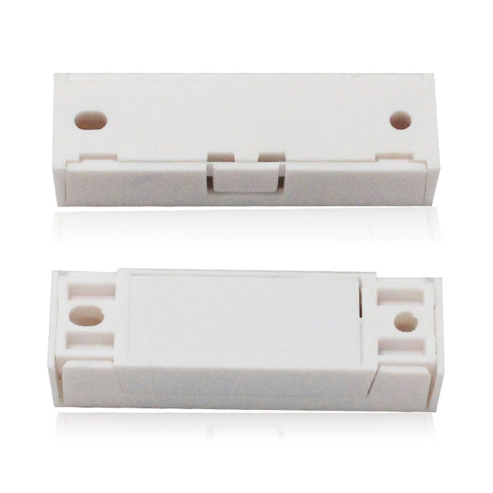 Albertsons New Wired Door Window Sensor For Wooden Alarm Contact Wiring Series Magnetic Switch Abs Home