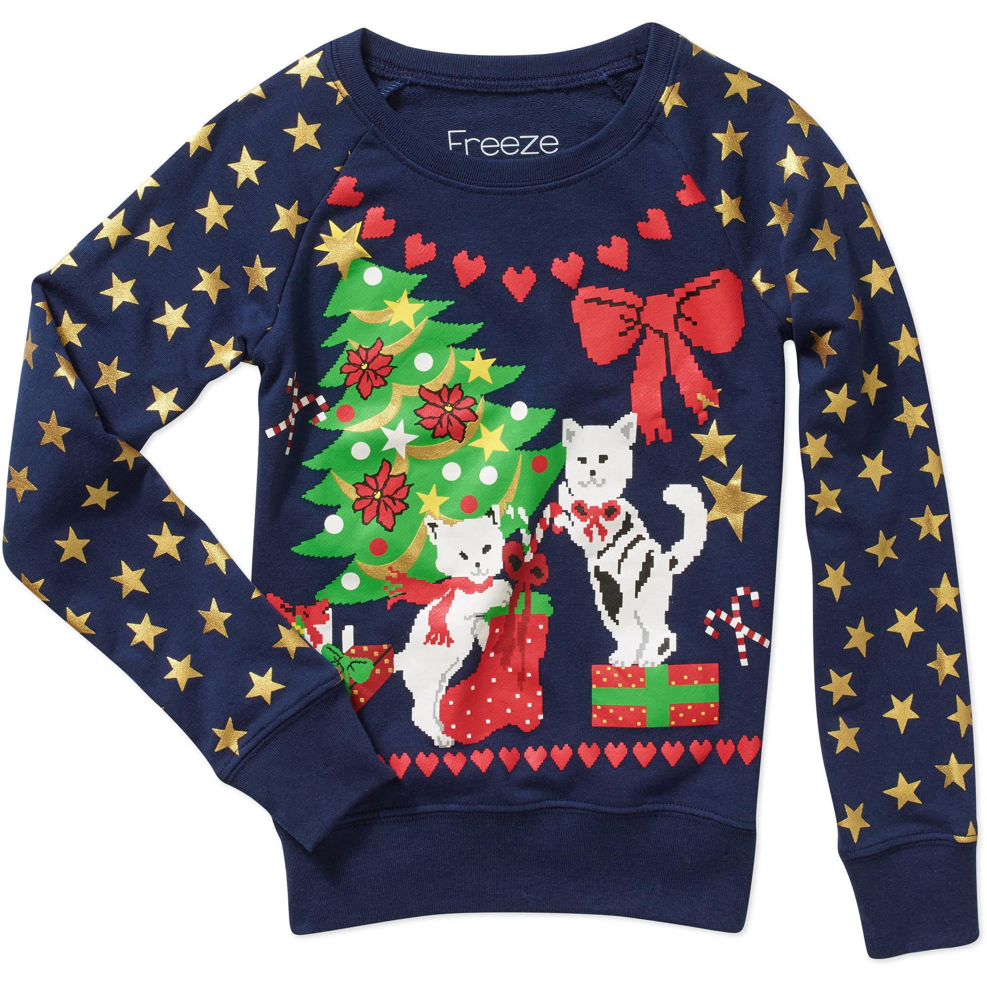 Cat Christmas Sweater Walmart Ukash Bon Coin Herault