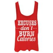 Chin Up Juniors' Burn Calories Tank Top