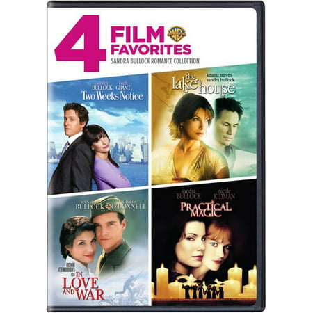 4 Film Favorites  Sandra Bullock Romance Collection