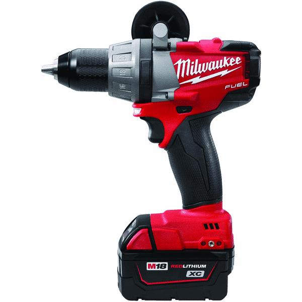 Milwaukee M18 FUEL Brushless XC Lithium-Ion Cordless Drill Kit