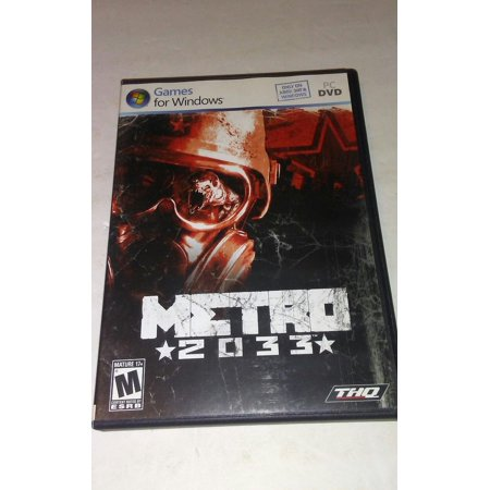 Metro 2033 PC Game (Windows 7/Vista/XP) (Pc Games For Pentium 4 Windows Xp List)