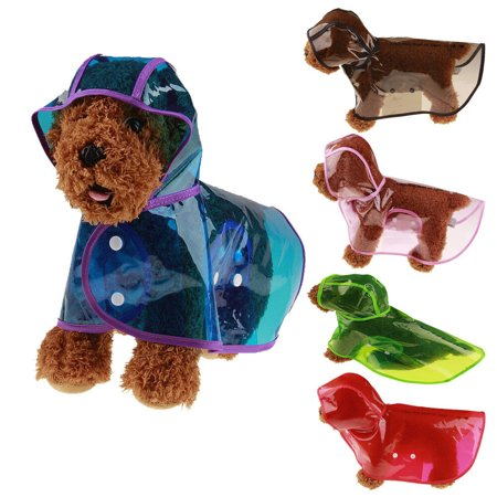 Pet Rain coat for Small Puppy Dogs Jacket Cute Casual Waterproof Dog Clothes Cute Dog Clothing