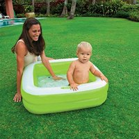 "Intex 33.5"" X 33.5"" X 9"" Inflatable Baby Pool"