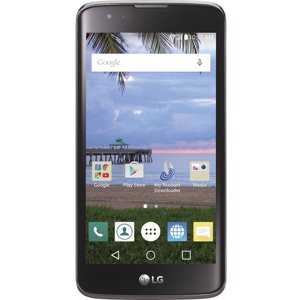 Total Wireless LG Treasure Prepaid Smartphone, Black