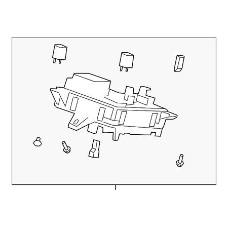 Genuine OE GM Fuse & Relay Box 20934633