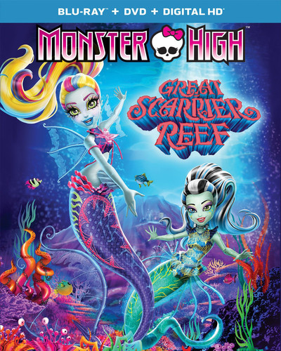 Monster High: Great Scarrier Reef (Blu-ray + DVD + Digital Copy)