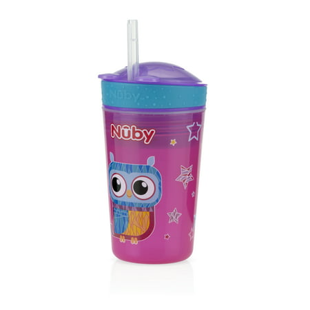 Nuby 1 Pk Snack N' Sip Cup and Snack Carrier in One, Styles May Vary](Sip Halloween 1)