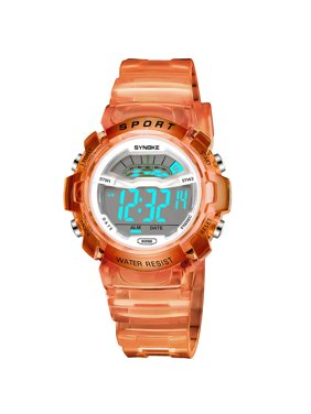 Gobestart Children Boys Student Waterproof Sports Watch LED Digital Date Wristwatch