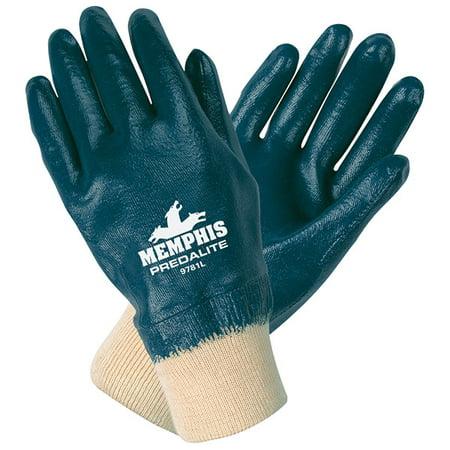 Predalite Supported Nitrile Gloves, Fully Coated (2 Dozens)