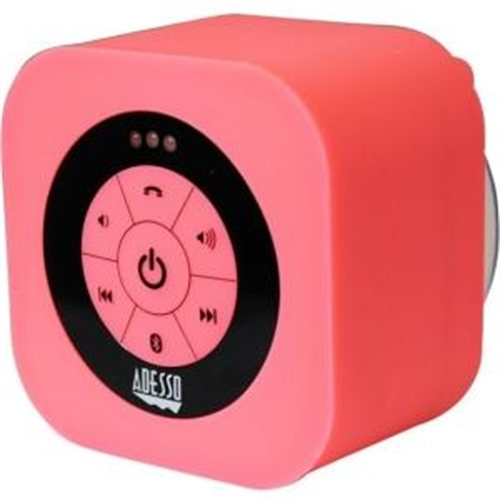 Adesso Xtream Xtream S1P Speaker System - Wireless Speaker(s) - Pink XTREAMS1P