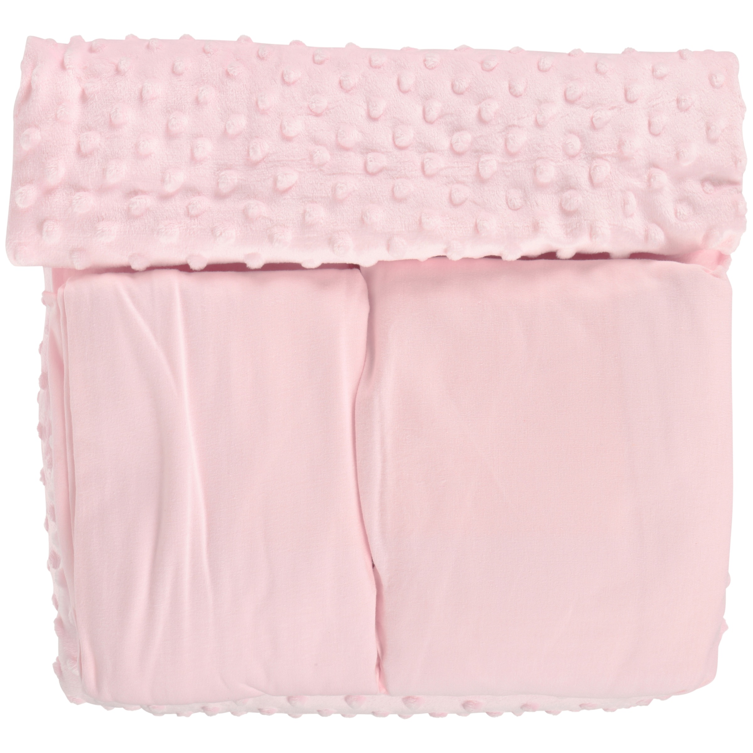 TL Care™ Heavenly Soft Pink Toddler Bedding Set 4 pc Pack