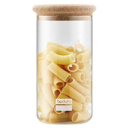 Bodum Yohki Storage Jar with Cork Lid Bodum Glass Storage Jars