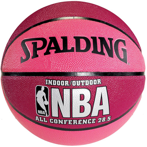 Spalding NBA All Conference 28.5 Composite Pink and Crimson Women's Basketball