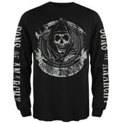 Sons Of Anarchy - Redwood Original Black Long Sleeve T-Shirt