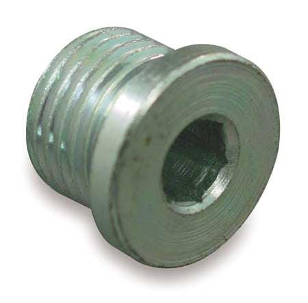 EATON FF2138-04S Hose Adapter, Male ORB, Plug, 7/16-20, Steel
