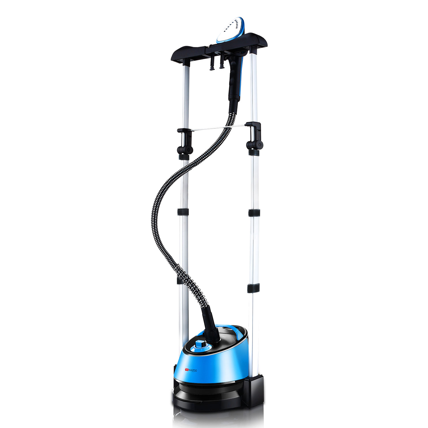 Kazoo 1580W 46 oz. Professional Dual Bar Garment Steamer by Kazoo
