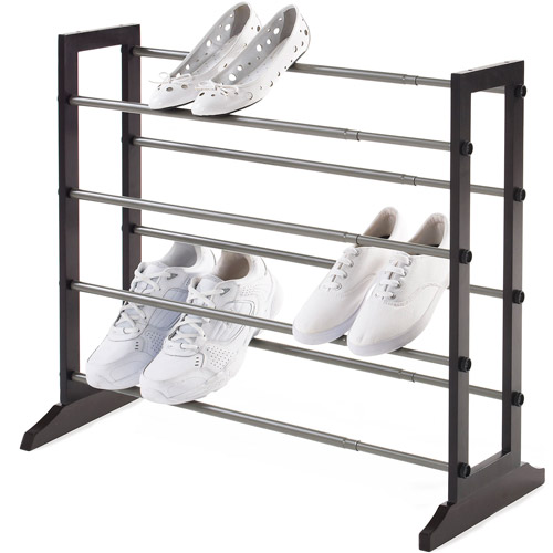 Neatfreak 4-Tier Wood Shoe Rack, Brown
