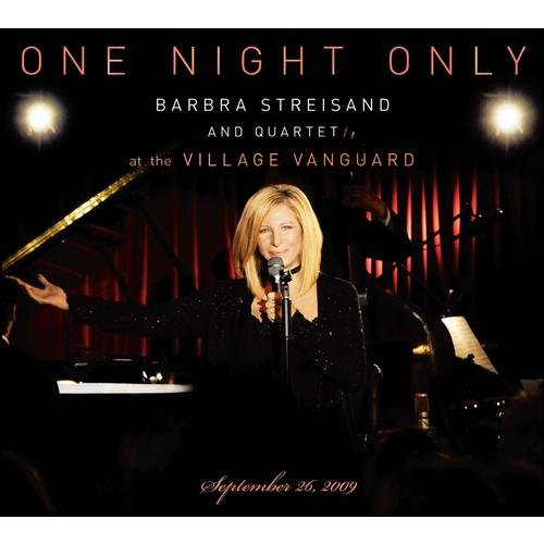 One Night Only: Barbra Streisand And Quartet At The Village Vanguard - September 26,2009 (Limited Edition) (DVD/CD)