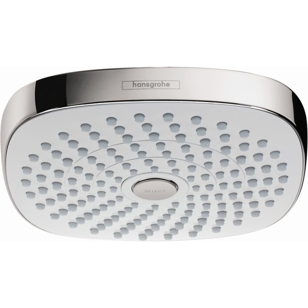 Hansgrohe 26528 Croma Select E Multi Function 2 Gpm Shower Head Walmart Com Walmart Com