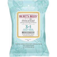 Burt's Bees Micellar Cleansing Towelettes, 30 Count