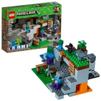 LEGO Minecraft The Zombie Cave 21141 Building Kit for Creative Play