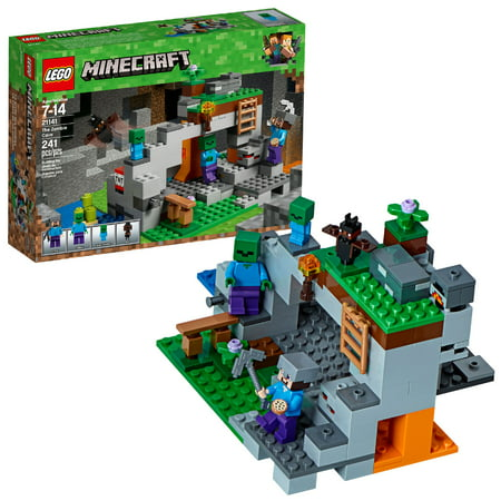LEGO Minecraft The Zombie Cave 21141 Building Set (241 Pieces)