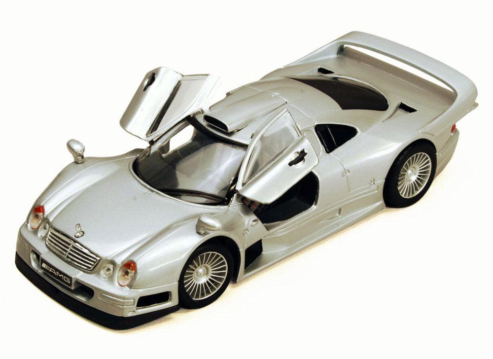 Mercedes-Benz CLK-GTR, Silver Maisto 34949 1 26 Scale Diecast Model Toy Car (Brand but NOT... by Maisto