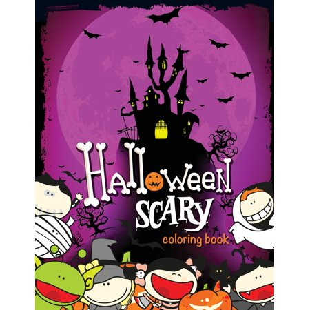 Last Minute Scary Halloween Makeup (Halloween Scary Coloring Book)