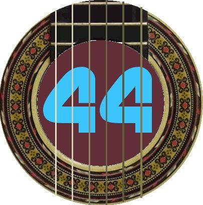 La Bella Guitar 4th Stg