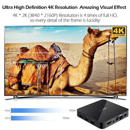 SCISHION AI TWO Smart Android 9.0 RK3328 Quad-core UHD 4K VP9 H.265 4GB+32GB 2.4G Wi-Fi BT4.0 HD LED Display Screen Video Player - image 6 de 6