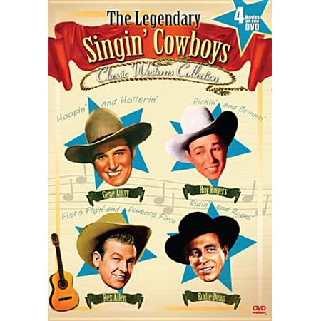 The Classic Westerns: Singing Cowboys Four Feature