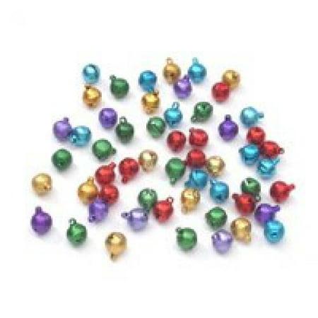 Darice Jewelry Designer 10mm Jewel Tone Aluminum Bells