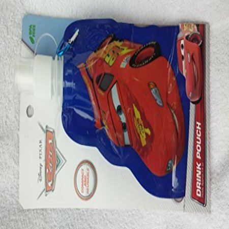 Best Brands/Disney Pixar Cars 14 oz. Compact & Reusable Drink Pouch w/Clip by Best