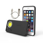 Nebo CaseBrite for iPhone 6 Plus & 6s Plus - Black - 200 Lumens