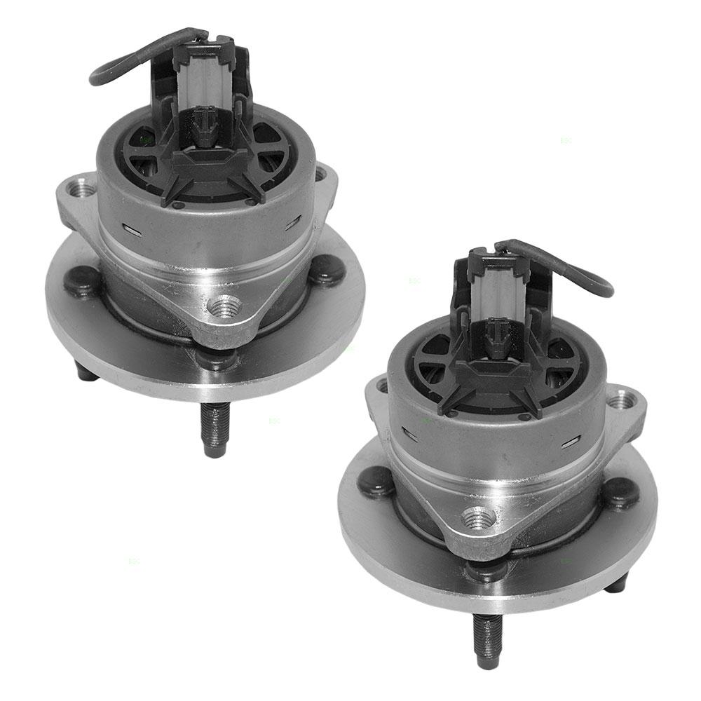 Pair Set Front Wheel Hub Bearings Replacement for Chevrolet Pontiac Saturn 22701516