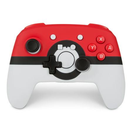 PowerA Enhanced Wireless Controller for Nintendo Switch - Poké Ball